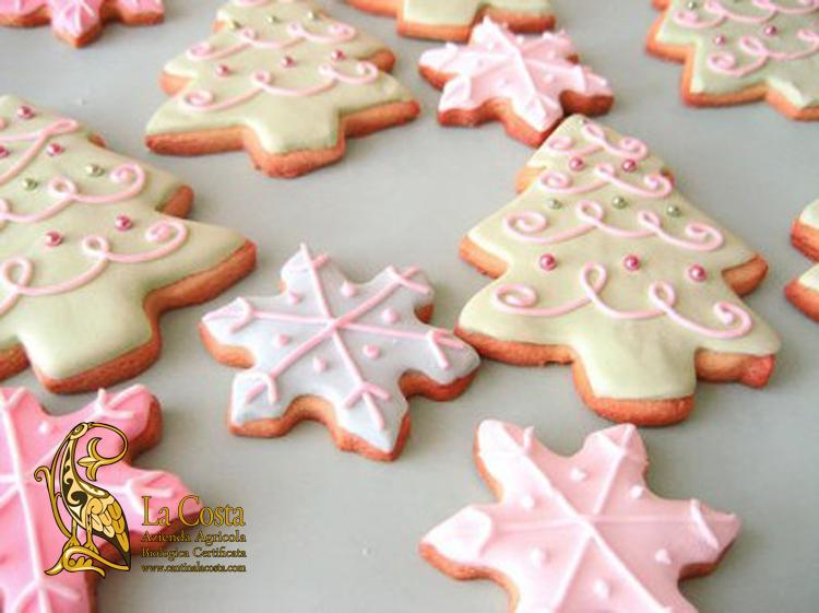 Un biscotto cake design per natale alberi e stelline - Decorazioni tumblr ...